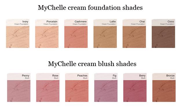 MyChelle mineral make-up