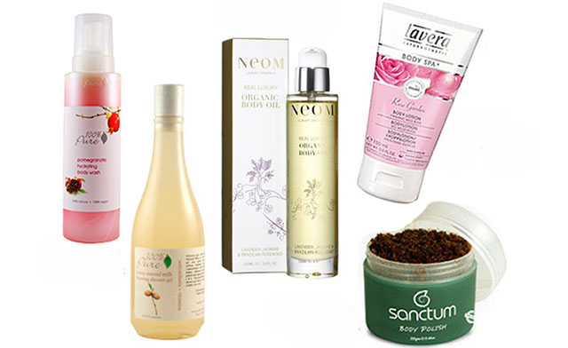 organic body care treatments