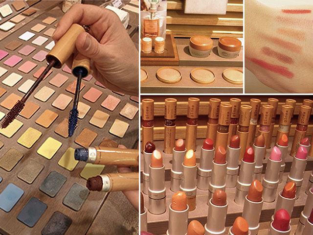 Couleur caramel makeup boutique in Paris