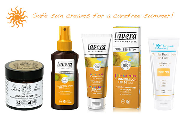 Natural sunscreens