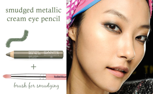 coloured eye pencil