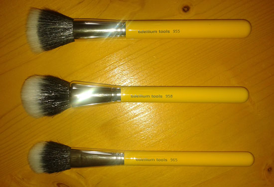 Bdellium Tools duo-fibre brushes