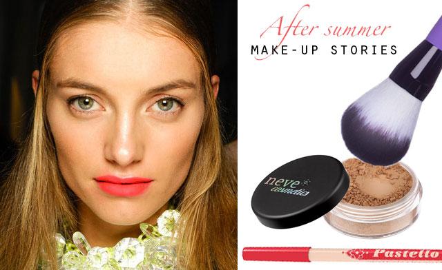 after summer make-up