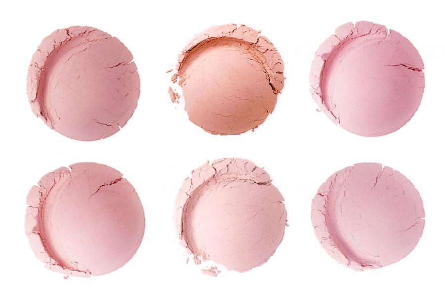 Everyday minerals blush swatches