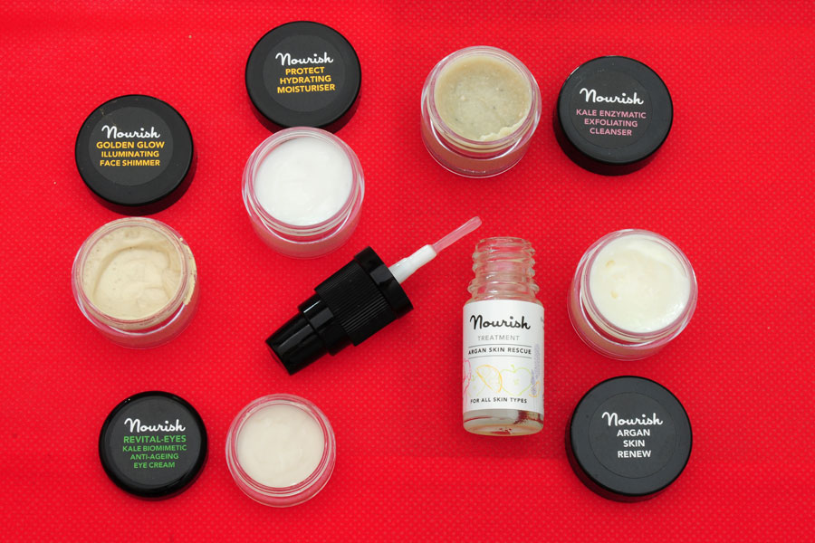Nourish skincare travel set