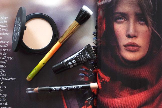 Purobio cosmetics review and Jacks beauty line make-up brush