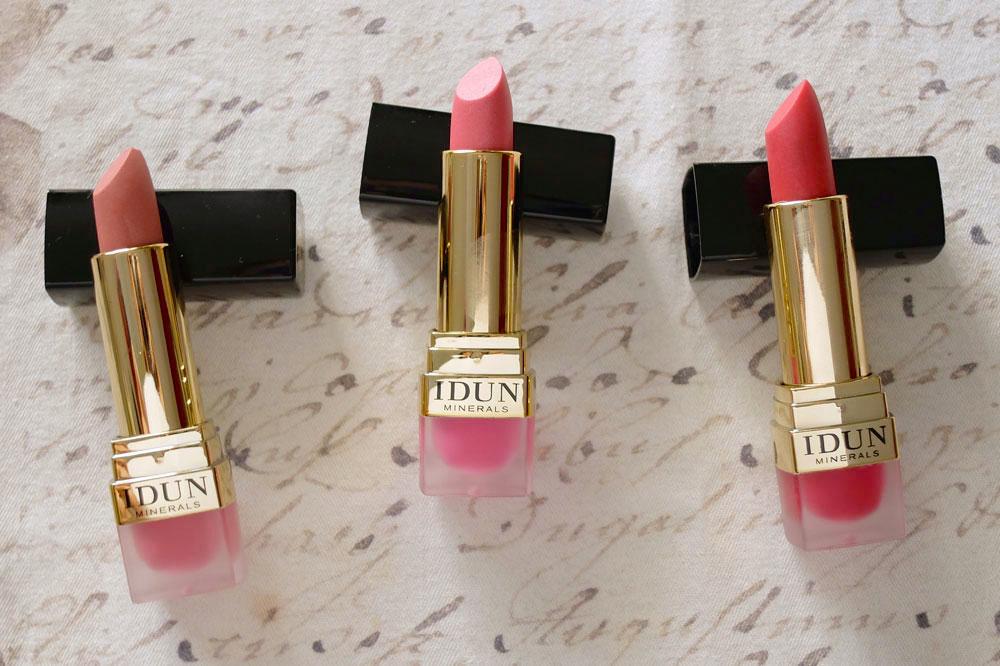 idun minerals creme lipstick review