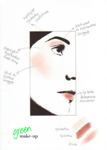 Naturalluminousautumn makeup