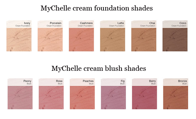 MyChelle mineral make-up