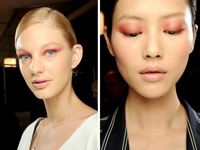 Rose on eyes for different eye colors (Carolina Herrera)