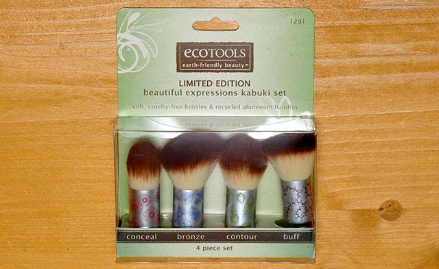 EcoTools limited edition kabuki set