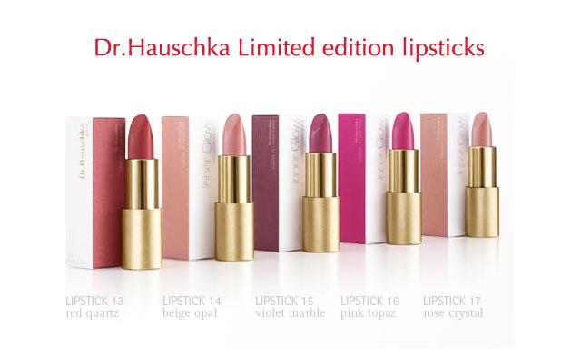 Dr Hauschka Inner Glow Lipstick Green Makeup