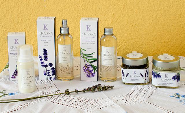 Krasna organic lavender skincare