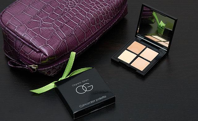 Organic glam concealer palette