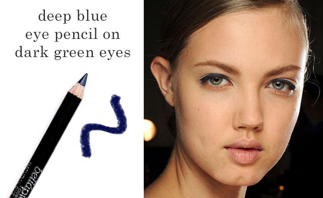 blue eye pencil