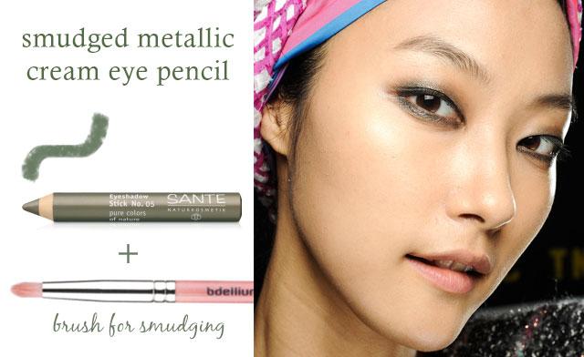 coloured eye pencil
