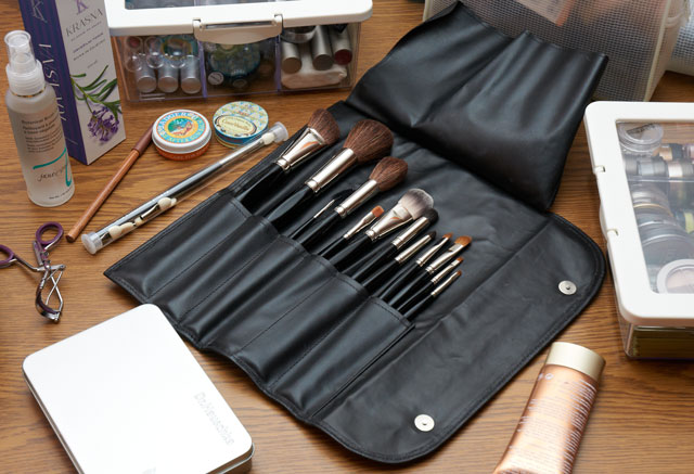 Da Vinci professional make-up brushes