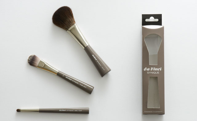 Da Vinci make-up brushes Synique