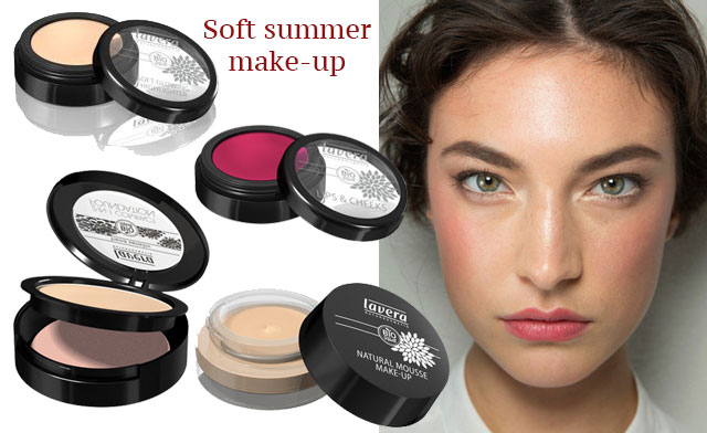 soft summer make-up