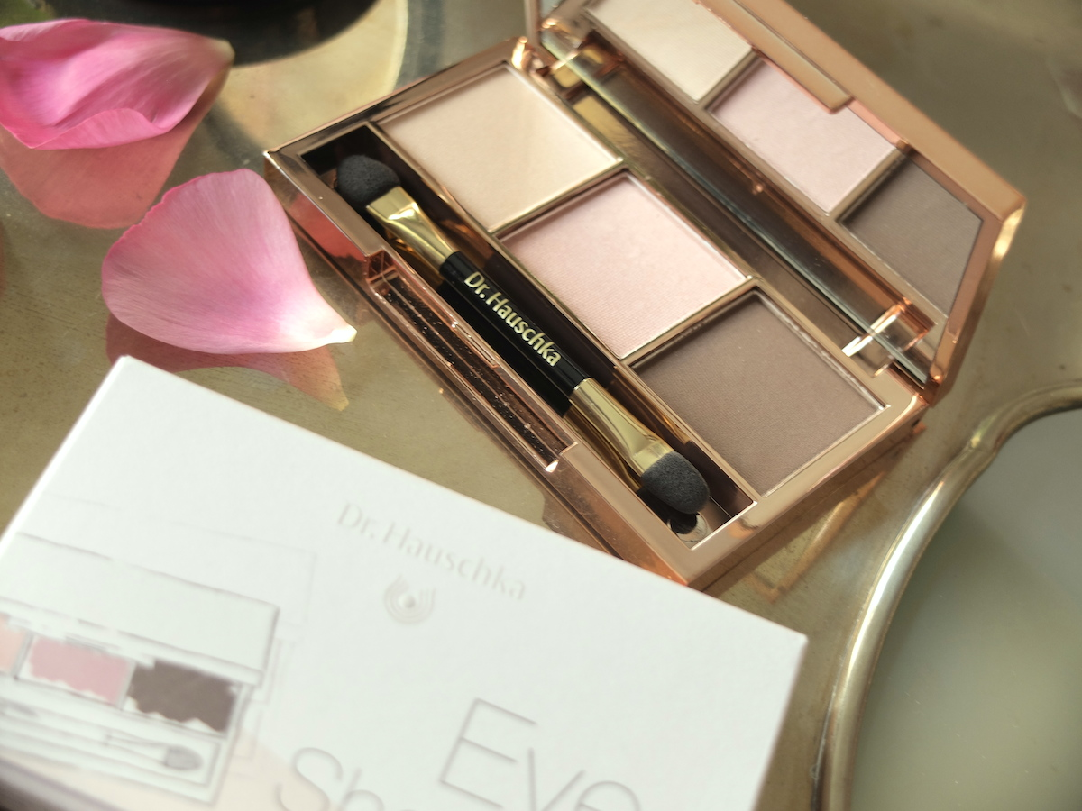 dr.hauschka eyeshadow trio limited edition review